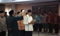 Prof. Dr. KH. Nasaruddin Umar saat dilantik menjadi Imam Besar Masjid Istiqlal jakarta (22/01) (foto; kemenag.go.id)