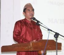 KH. Nur Hannan, Lc., M.Hi., dalam kesempatan  sambutan