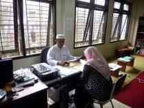 Tes lisan Baca Kitab dan Baca Tulis Al-Qur'an pada hari kedua, Ahad (15/05/2016)