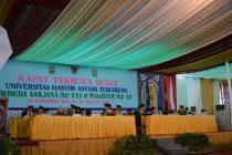 Wisuda Sarjana dan Pasca Sarjana Universitas Hasyim Asyari Tebuireng, Sabtu (26/11/2016)
