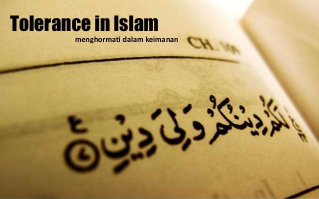 Bagaimanakah Konsep Toleransi Yang Benar Menurut Islam