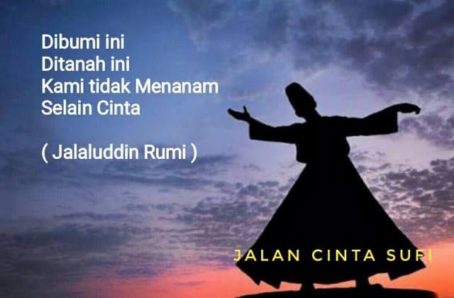 Kata Kata El Rumi Tentang Cinta